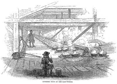 Slave Labor, 1857 Print by Granger