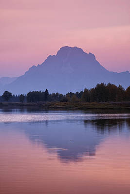 Sunset Photograph - Teton Reflections by Andrew Soundarajan