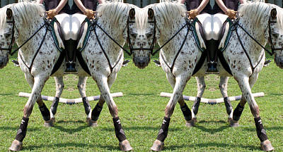 Horse Show Digital Art - Untitled by Betsy Knapp