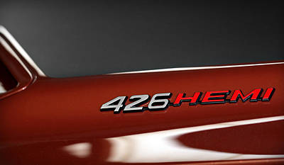 426 Hemi Print by Gordon Dean II
