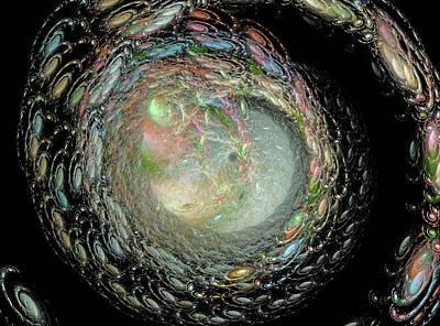 Constellation Digital Art - Untitled by Betsy Knapp