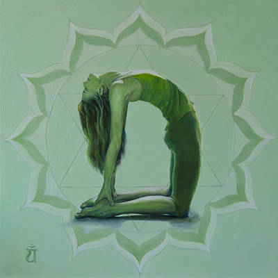 Anahata Painting - 4th Chakra - Heart by Shelly Meredith