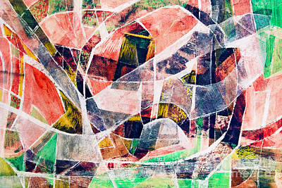 Composite Painting - Abstract Composition by Michal Boubin
