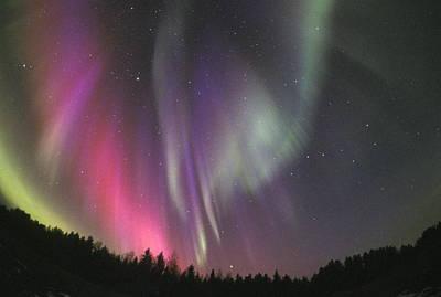 Aurora Borealis Print by Pekka Parviainen