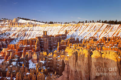 Pinnacle Overlook Photograph - Bryce Canyon by Brian Jannsen