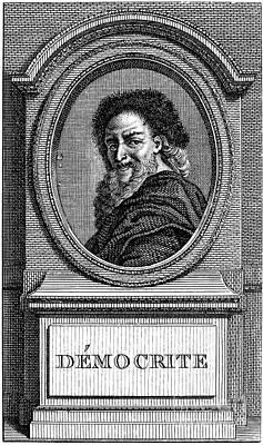 Democritus (c460-c370 B.c.) Print by Granger