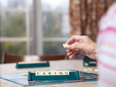Board Game Photograph - Geriatric Care by Tek Image