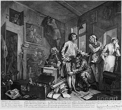 Hogarth: Rakes Progress Print by Granger