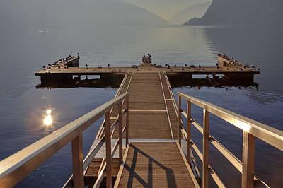 Ticino Photograph - Lago Di Lugano by Joana Kruse