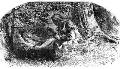 Longfellow: Hiawatha Print by Granger