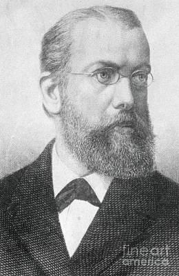 Robert Koch, German Microbiologist Print by Science Source