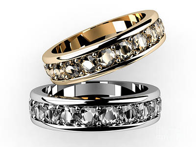 The Beauty Wedding Ring  Print by Rattanapon Muanpimthong