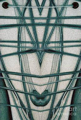 The Magic Background Print by Odon Czintos