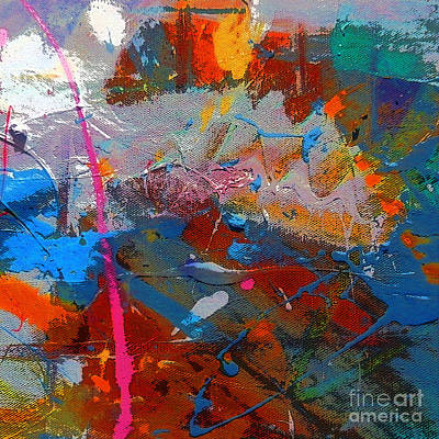 Nappy Head Art Painting - Untitled by Robert Daniels