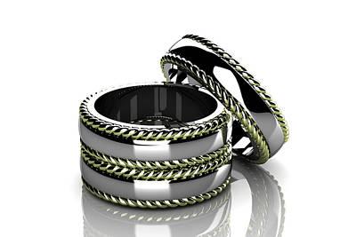 Wedding Ring  Original by Rattanapon Muanpimthong