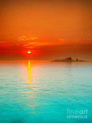 Sunrise Print by MotHaiBaPhoto Prints