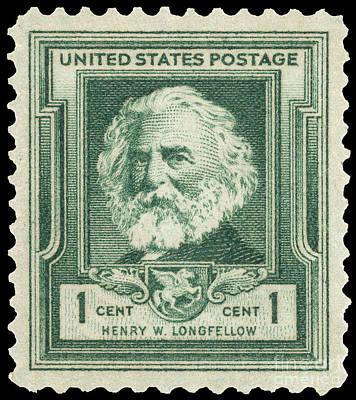 Henry Wadsworth Longfellow Print by Granger