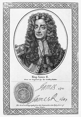 James II (1633-1701) Print by Granger