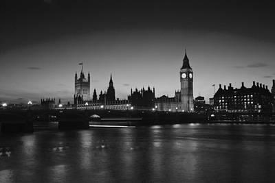 London  Skyline Big Ben Print by David French