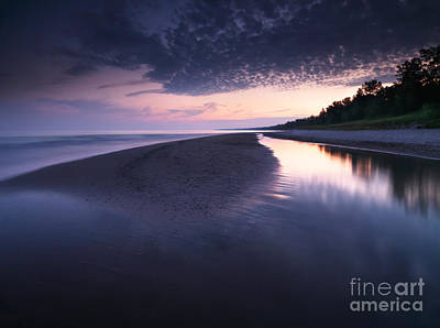 Sunset Photograph - Long Point Beach by Oleksiy Maksymenko