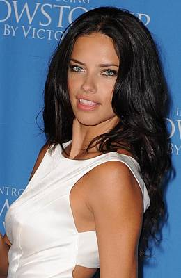 Adriana Lima At In-store Appearance Print by Everett