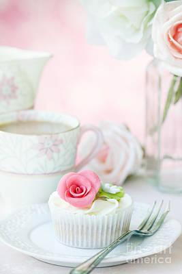 Afternoon Tea Print by Ruth Black