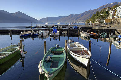 Tessin Photograph - Ascona - Lake Maggiore by Joana Kruse
