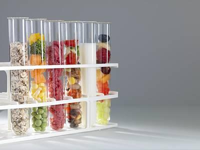 Balanced Diet Print by Tek Image