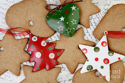 Christmas Gingerbread Print by Nailia Schwarz