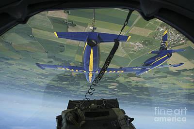 Flying With The Aero L-39 Albatros Print by Daniel Karlsson
