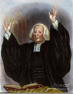 Sermon Photograph - George Whitefield by Granger