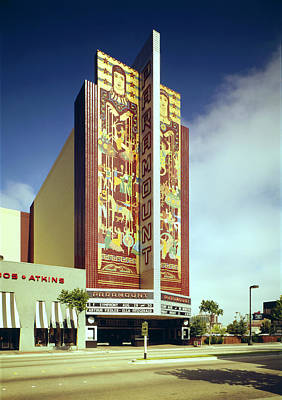 Basie Photograph - Movie Theaters, The Paramount Theatre by Everett