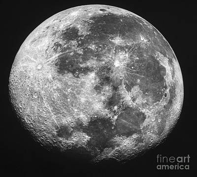The Moon Print by Stocktrek Images