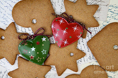Traditional Photograph - Christmas Gingerbread by Nailia Schwarz