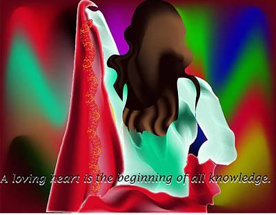 Digital Art Original by Aruna Kumar Malik