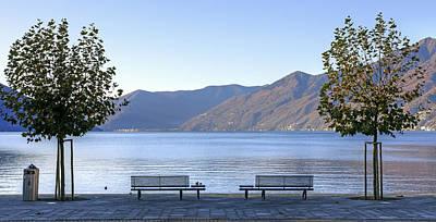Tessin Photograph - Lake Maggiore by Joana Kruse