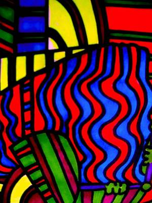 She Comes In Colors Print by Allen n Lehman