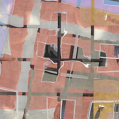 Urban Abstract San Diego Print by Carol Leigh