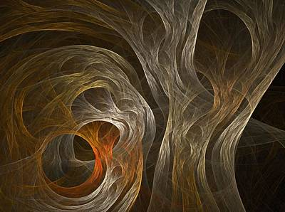 Apophysis Drawing - Weave by Michele Caporaso