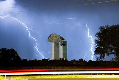 Images Lightning Photograph - 9-11   by James BO  Insogna