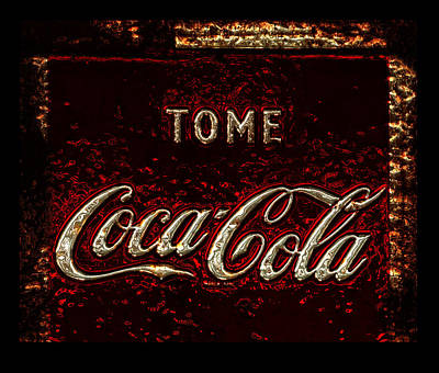 Coca-cola Sign Photograph - Coca Cola Classic Vintage Rusty Sign by John Stephens
