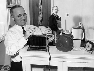 Harry S. Truman (1884-1972) Print by Granger