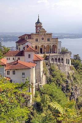 Ticino Photograph - Madonna Del Sasso - Locarno by Joana Kruse