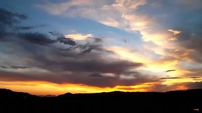 A California Sunset Print by Glenn McCarthy Art and Photography