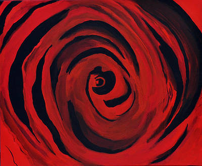 A Centered Rose... Print by Tanya Tanski