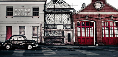 Engine House Photograph - A Classic Fire by Justin Albrecht