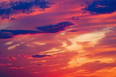 A Colorful Sky Print by Carson Ganci