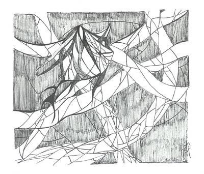 A Fish Print by Robert Meszaros