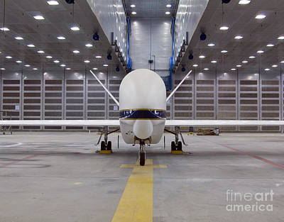 A Front View Of A Global Hawk Unmanned Print by Stocktrek Images