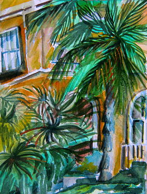 A Hotel In Sorrento Italy Original by Mindy Newman